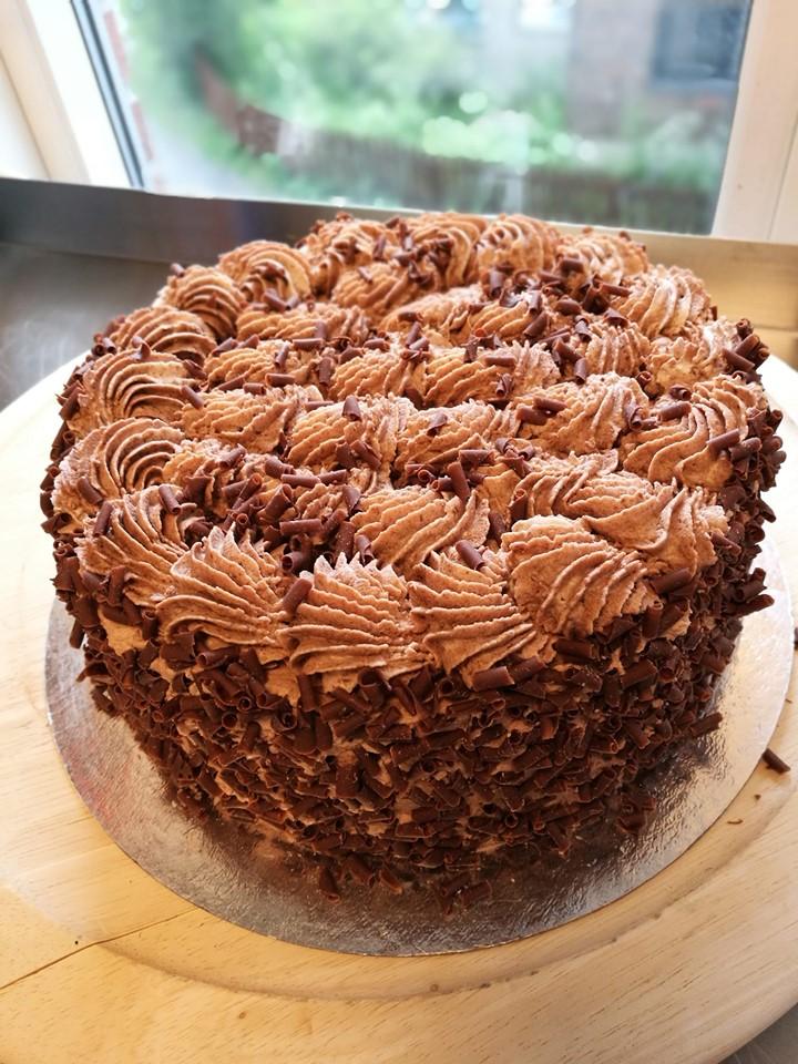 Sjokoladekrem kake