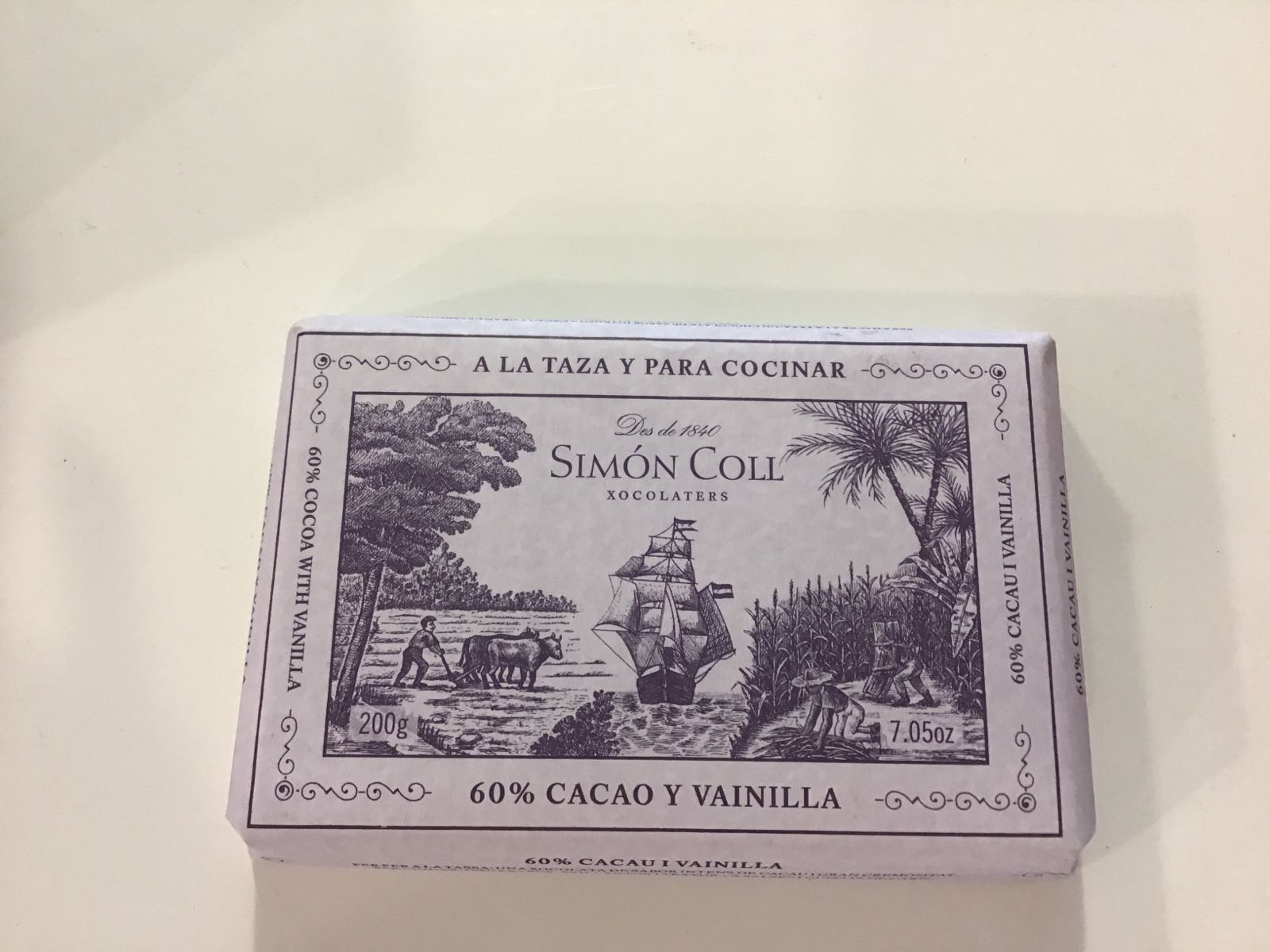 SIMON COLL vanilja