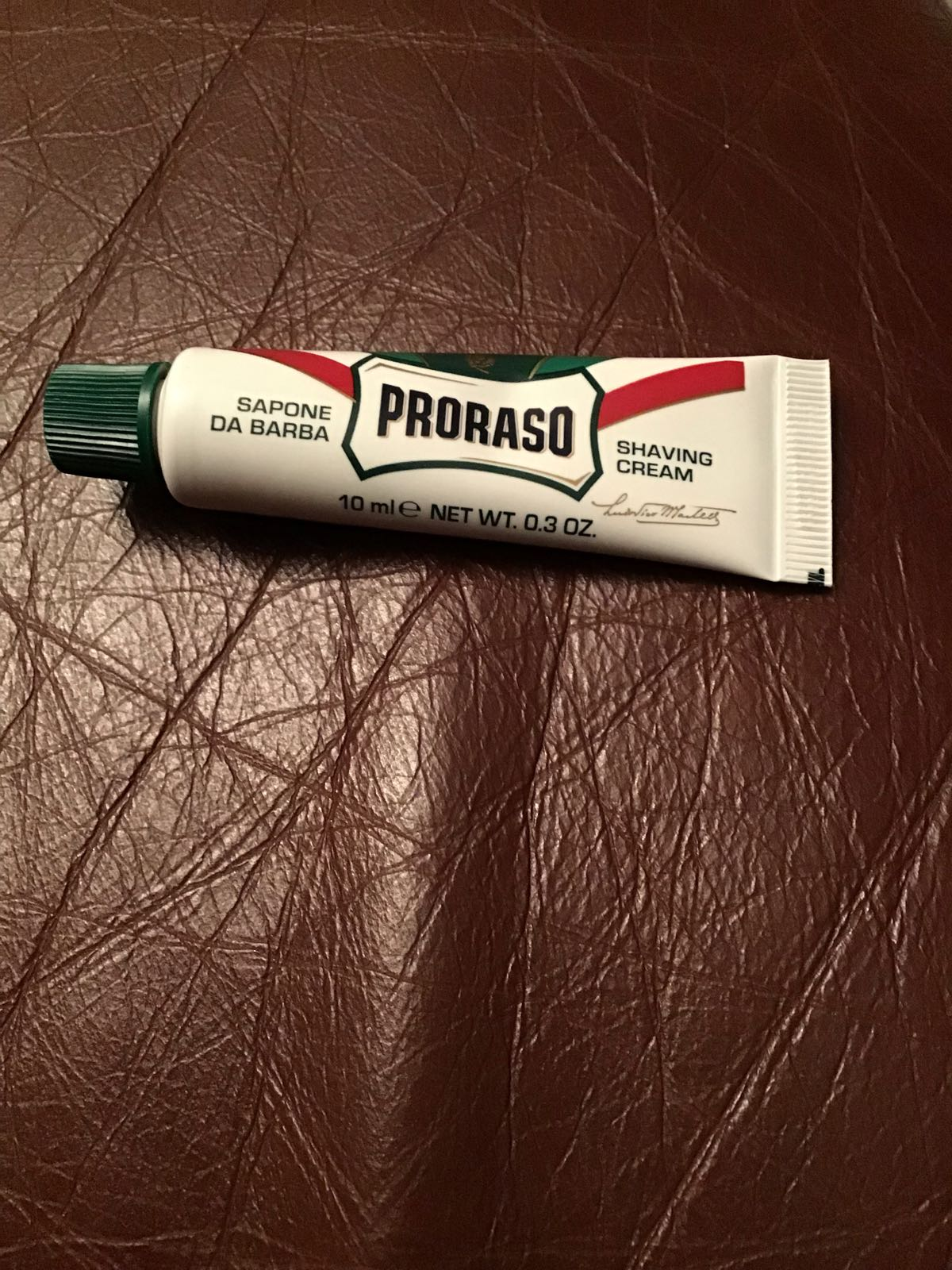 Mini proraso 10ml shaving cream