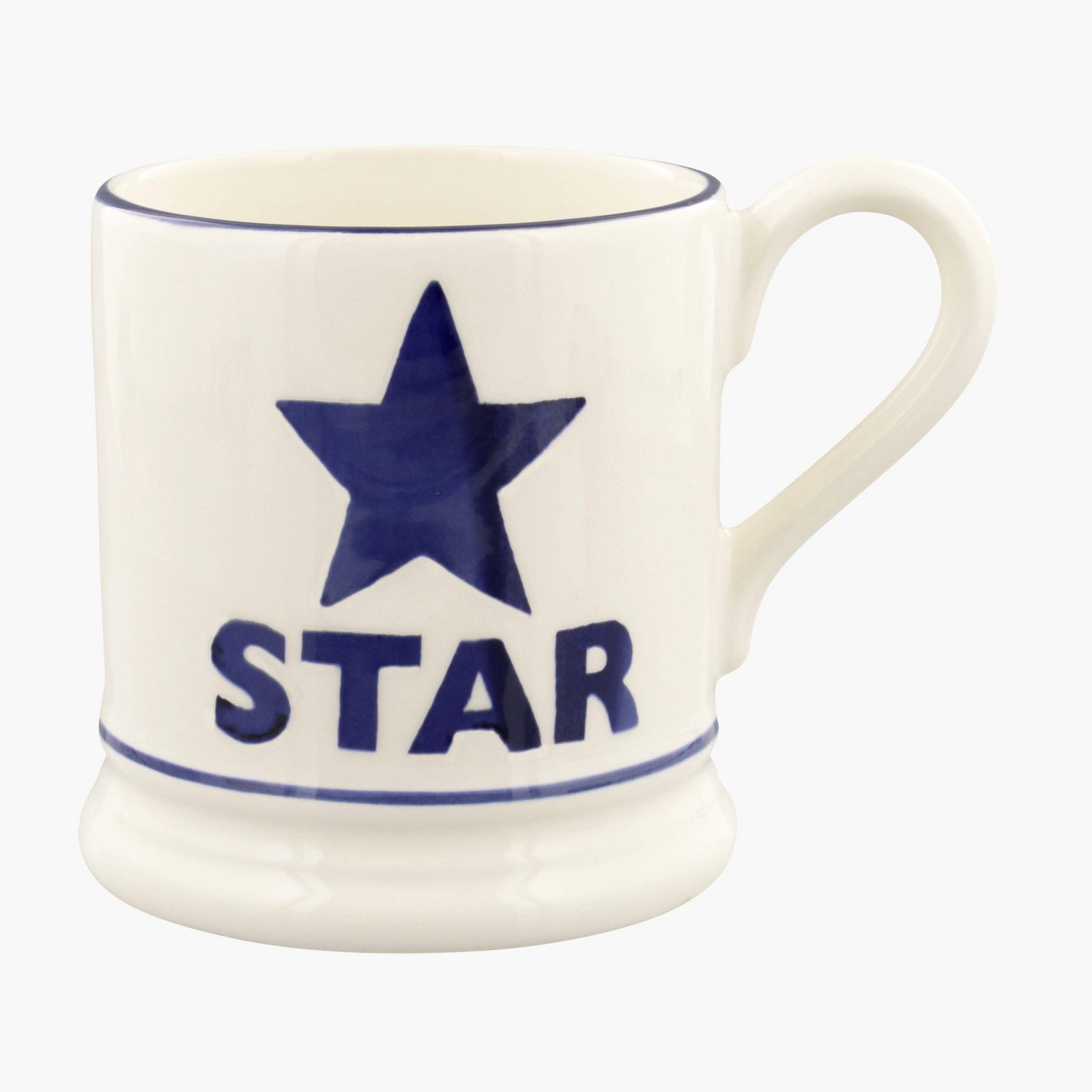 Emma bridgewater bright star 1/2 pint mug