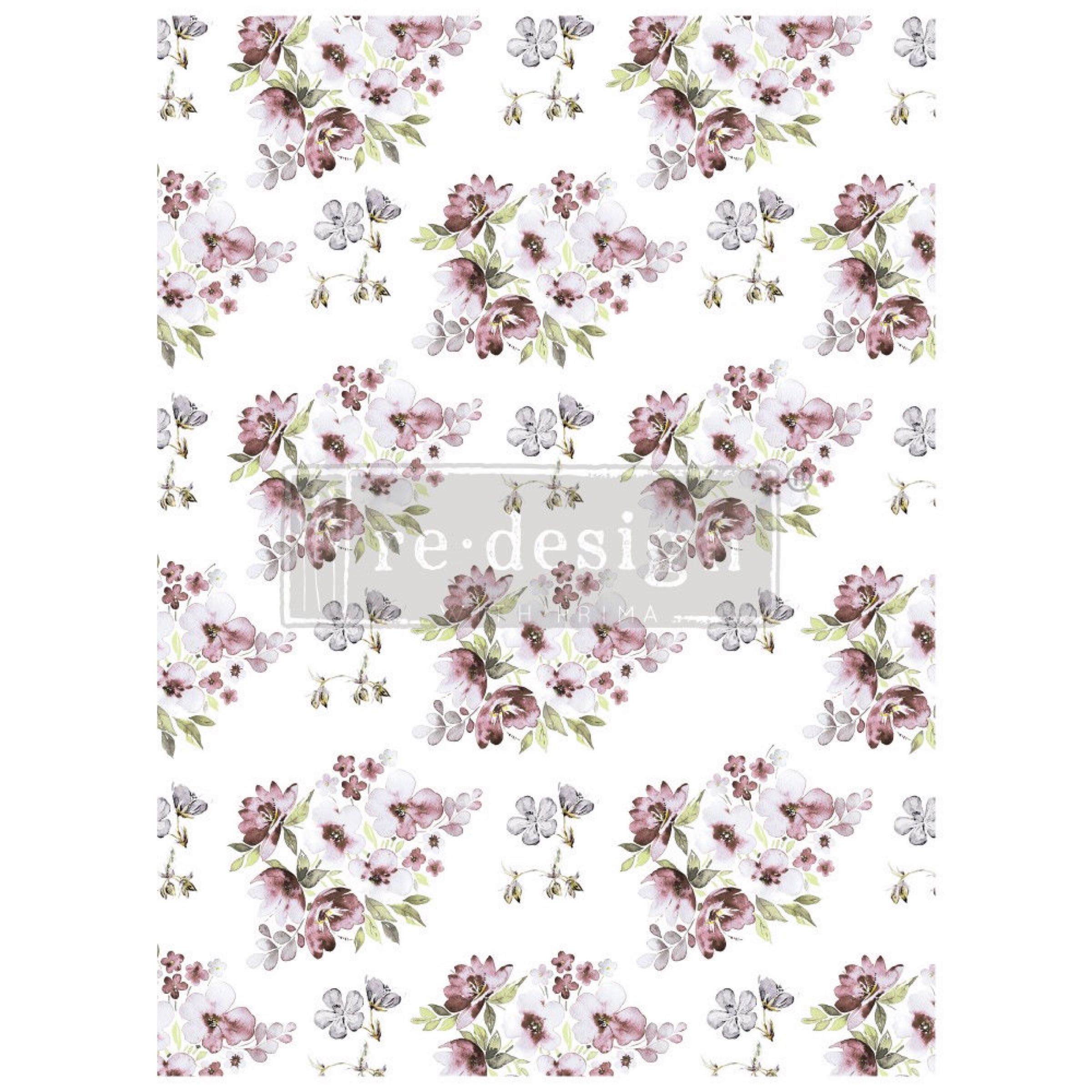 Re-Design with Prima Decor Transfer - Lavender Fields OUT OF STOCK