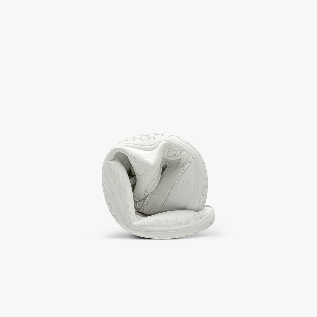 Vivobarefoot Primus Knit Lux White