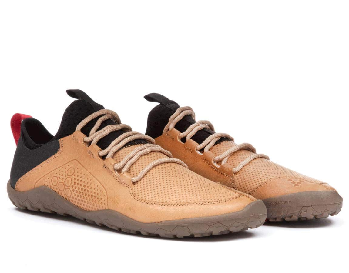 Vivobarefoot Primus Trek Tan Leather