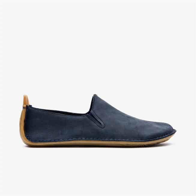 Vivobarefoot Ababa Navy Leather