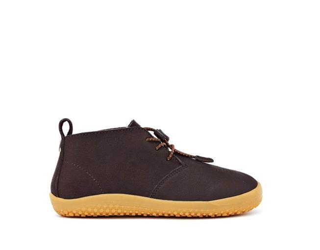 Vivobarefoot Gobi Kids Leather Brown