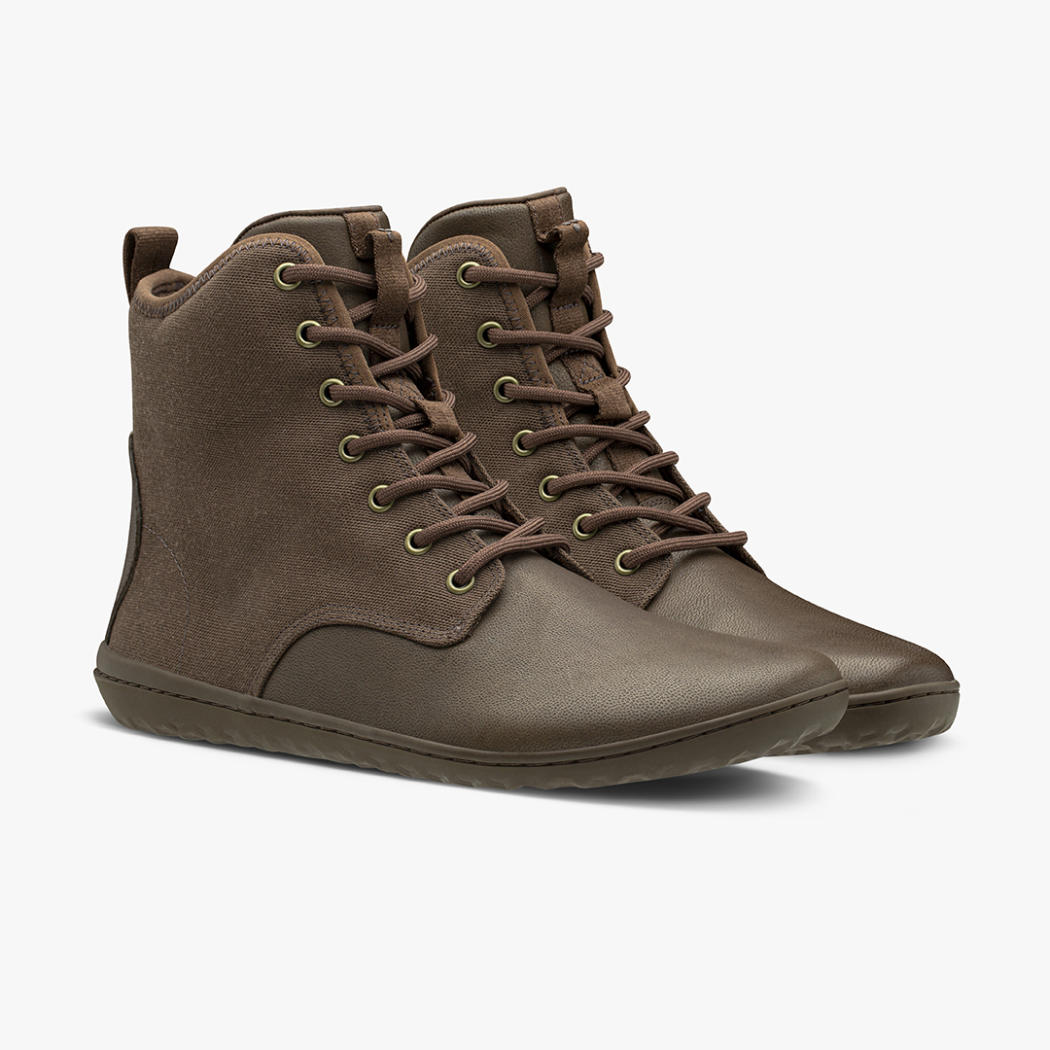 Vivobarefoot Scott 2.0 Brown Leather