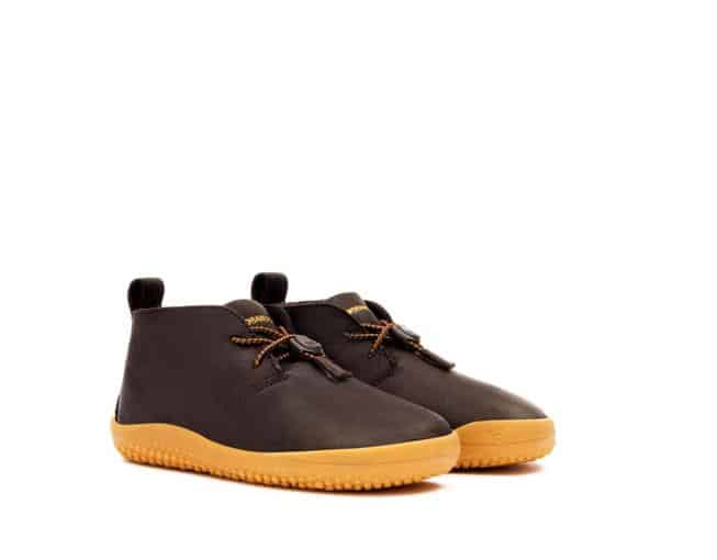 Vivobarefoot Gobi Kids Leather Brown
