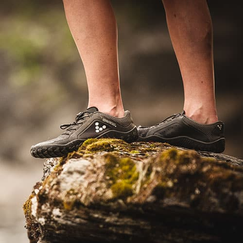 Vivobarefoot Primus Trail FG Charcoal Black