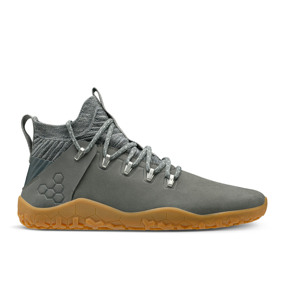 Vivobarefoot Magna Trail Leather & Wool Graphite FG