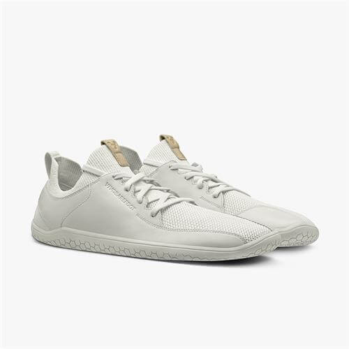 Vivobarefoot Primus Knit Bright White