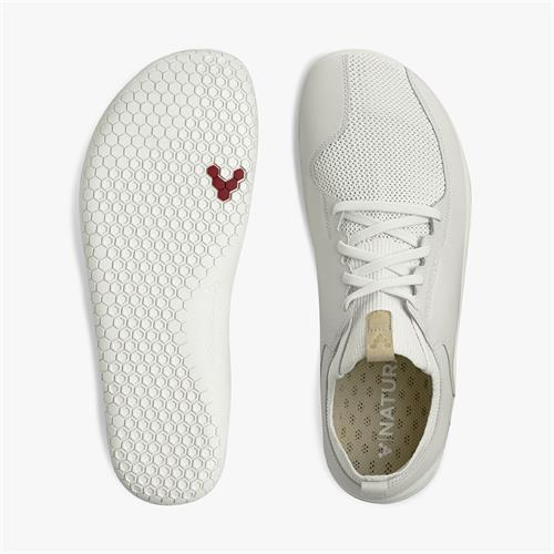 Vivobarefoot Primus Knit Bright White