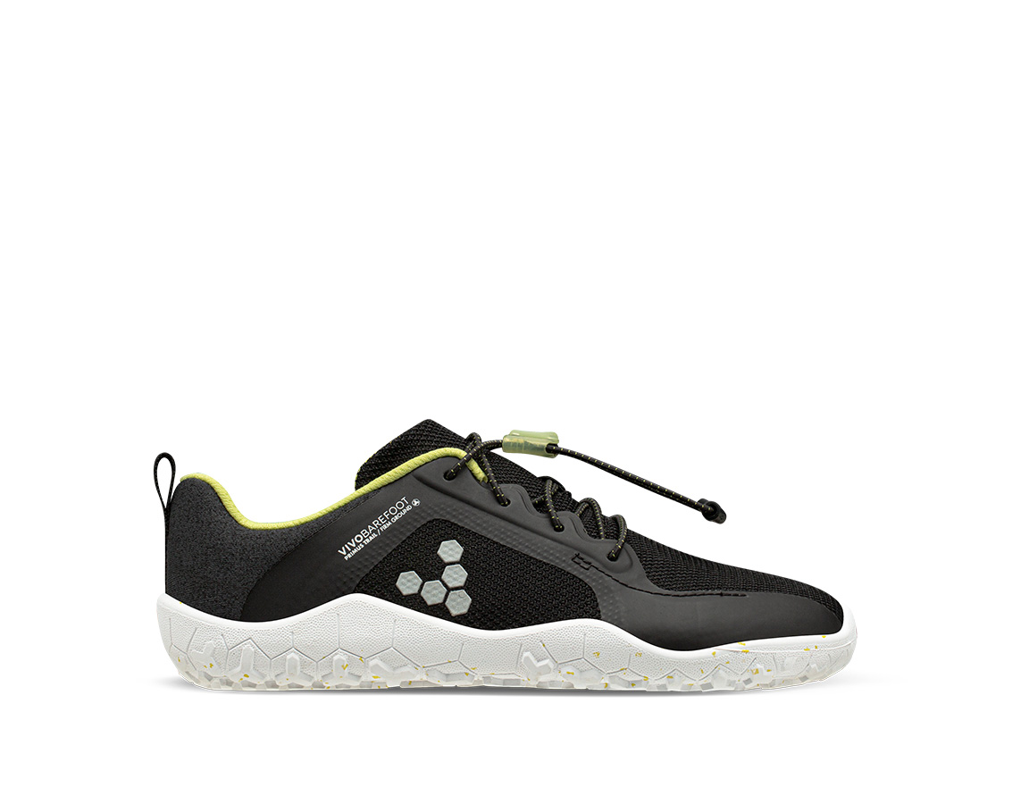 Vivobarefoot Primus Trail Obsidian Bio Lime Kid/Junior