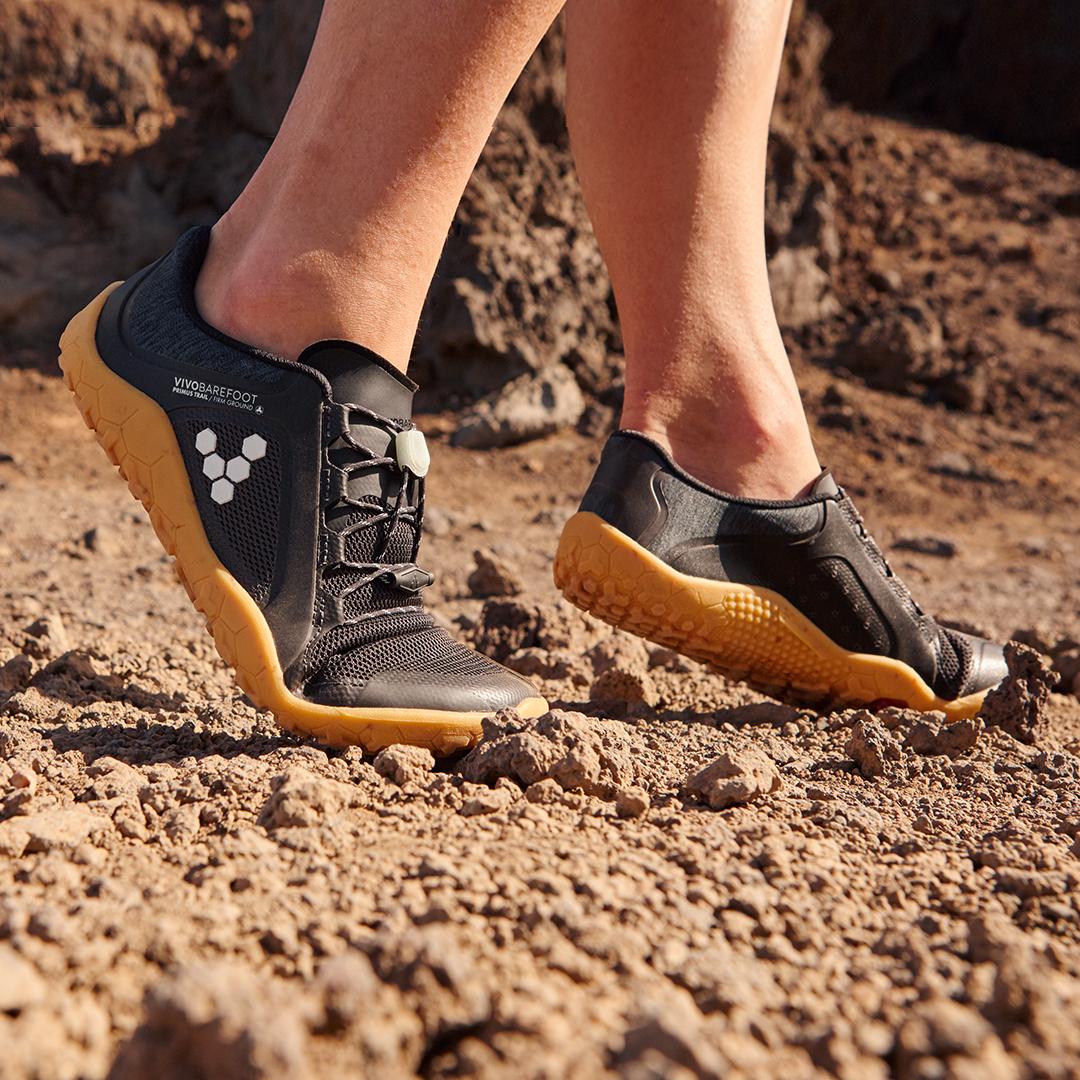 Vivobarefoot Primus Trail FG Black