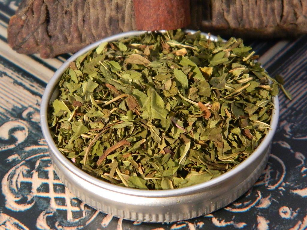 Peppermint Tea Cut Leaves organic