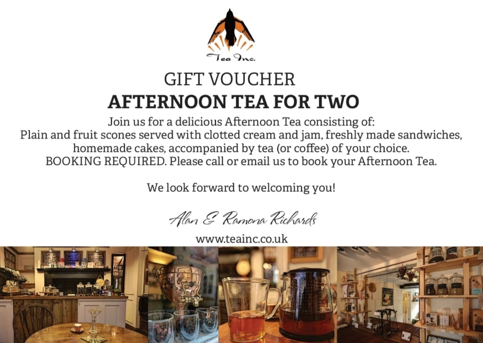 Gift Voucher Afternoon Tea   from