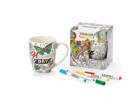 Kids Colouring Mug