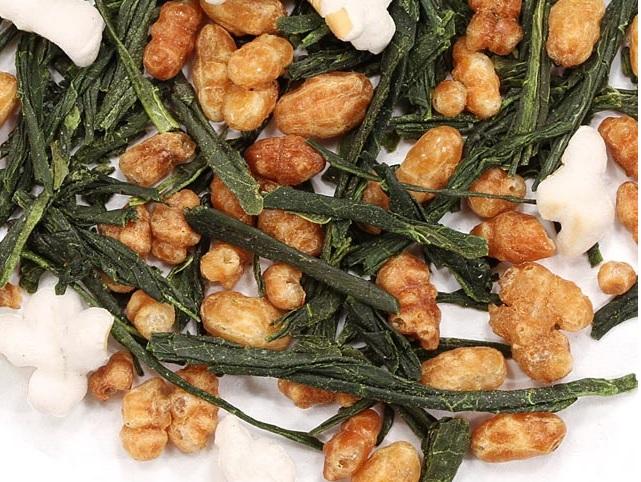 Genmai cha Green Popcorn Tea