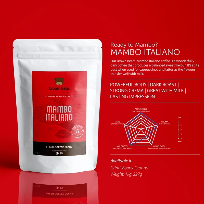 Mambo Italiano Brown Bear Ground