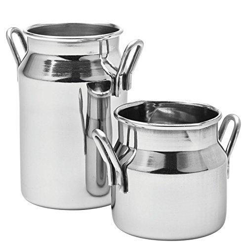 Milk churn silver