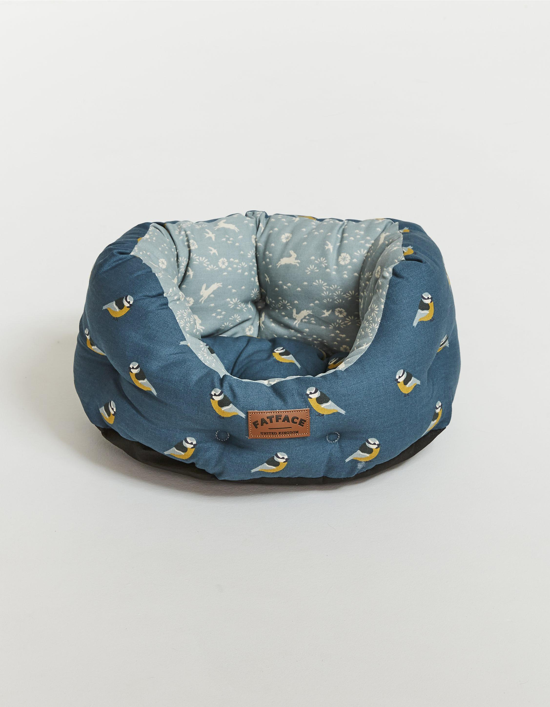 FatFace Flying Birds  Dog Bed 24""