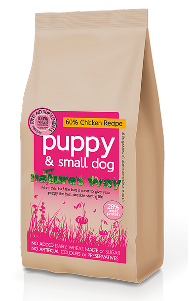 Natures Way Puppy N Small Dog 2kg