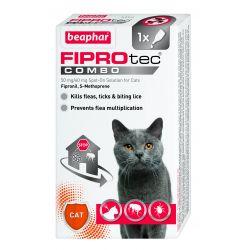 Beaphar Fiprotec Combo Cat Flea Treatment