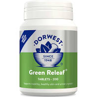 Dorwest Green Relief 100 tablets