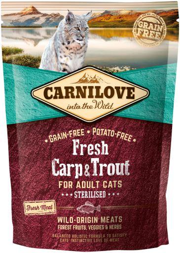 Carnilove Carp N Trout Cat 400g