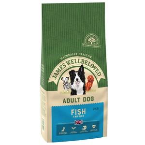 James Wellbeloved Fish N Rice Adult 2Kg