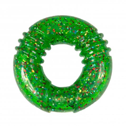 KONG Holiday Squeezz Confetti Ring Assorted Medium