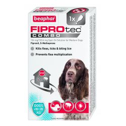 Beaphar Fiprotech Medium Dog Flea Treatment