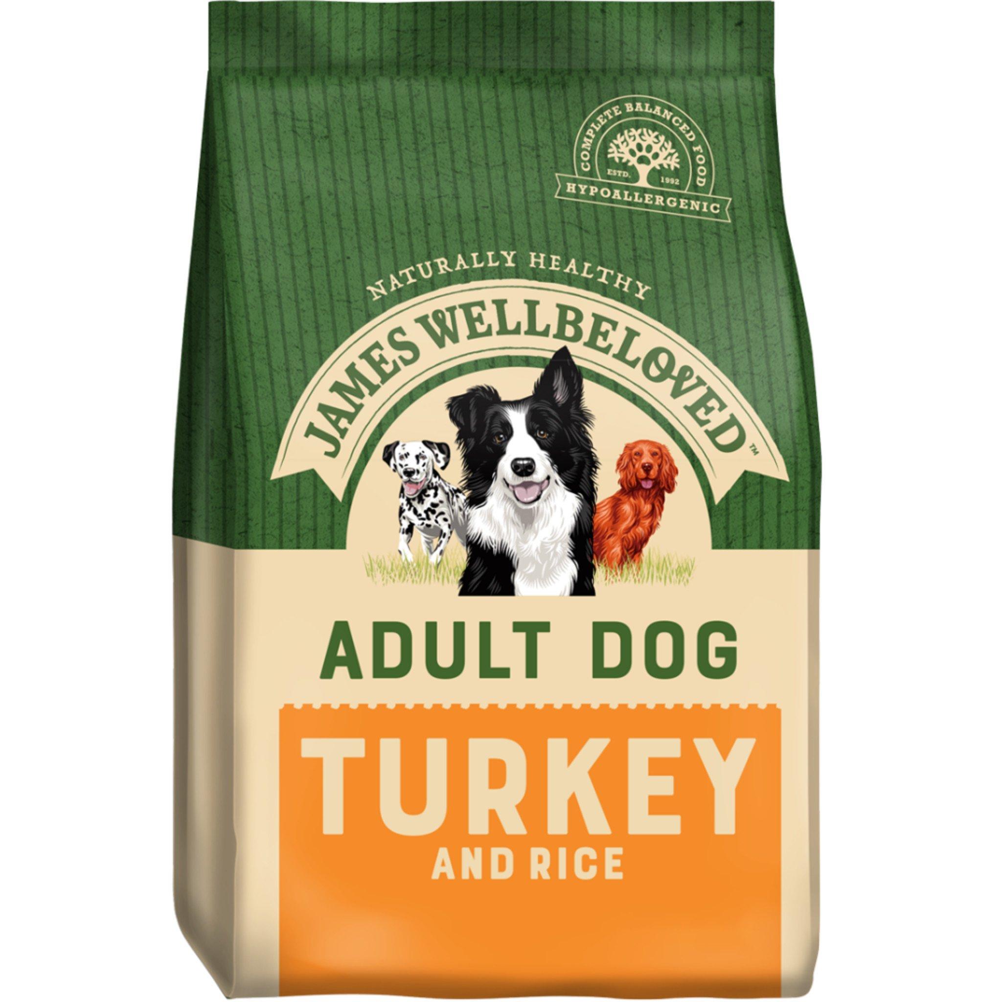James Wellbeloved Turkey & Rice 2Kg