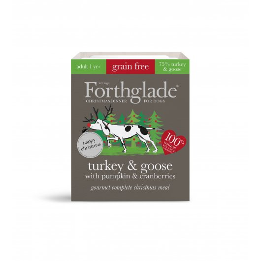 Forthglade Complete Meal Gf Gourmet Turkey & Goose With Pumpkin & Cranberry 395g