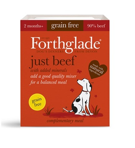 Forthglade Just Beef Tray 395g