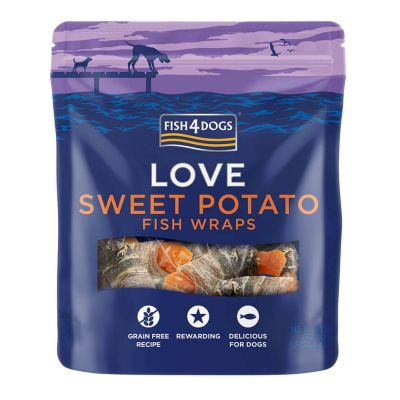 Fish4Dogs Love Wraps 100g