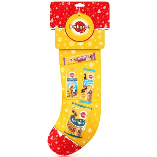 Pedigree Dog Xmas Stocking