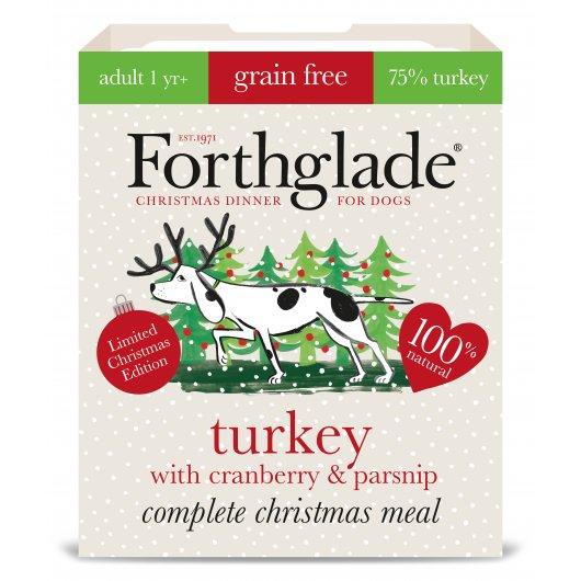 Forthglade Comp Meal Gf Adult Turkey Cranberry & Parsnip