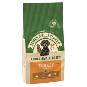 James Wellbeloved Small Breed Turkey 1.5kg