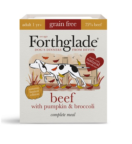 Forthglade Beef with Pumpkin 395g