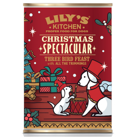 Lily's Kitchen Christmas Spectacular Tin