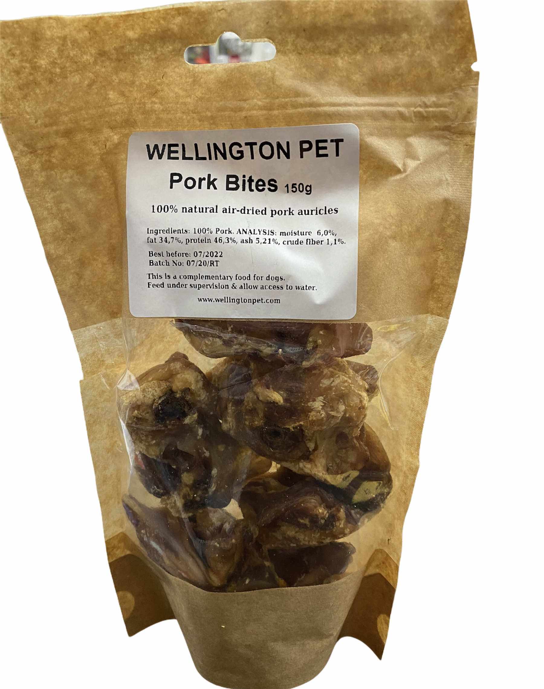 Wellington Pork Bites 150g Bag