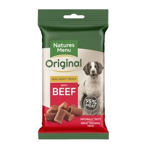 Natures Menu Beef Treats 60g