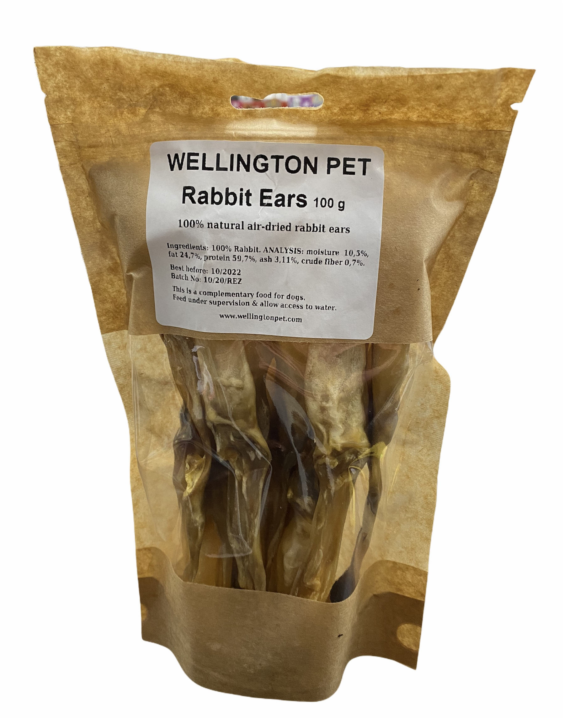 Wellington Rabbit Ears Bag 100g