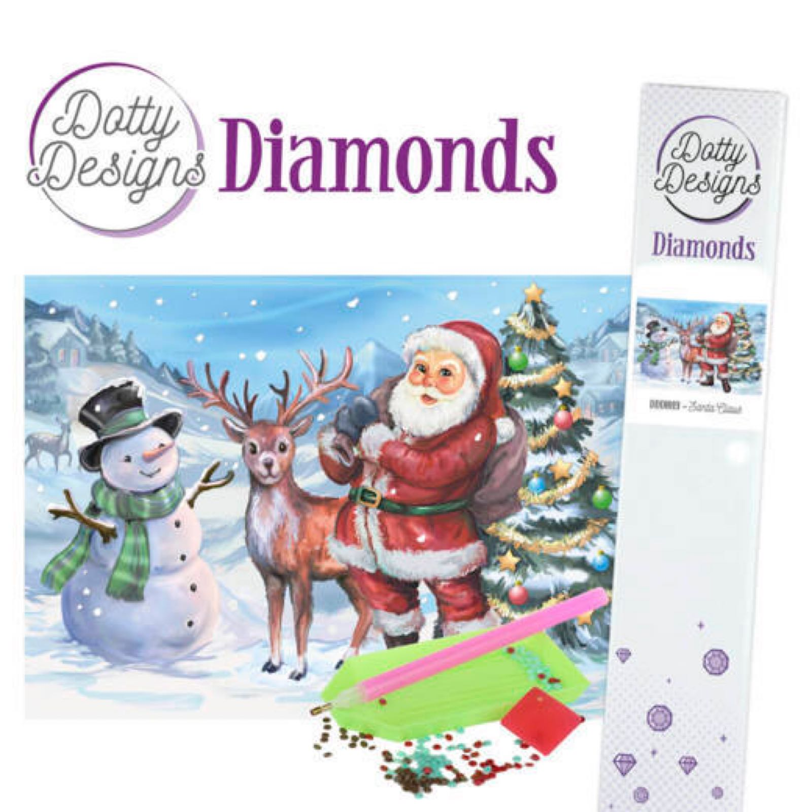 Dotty Design dimond Pearl santa Claus  DDD 1019