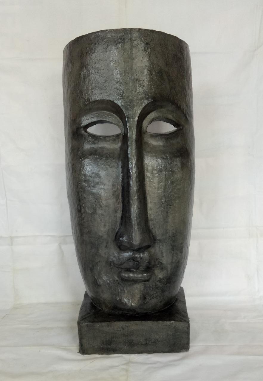 024 Buddha mask statue