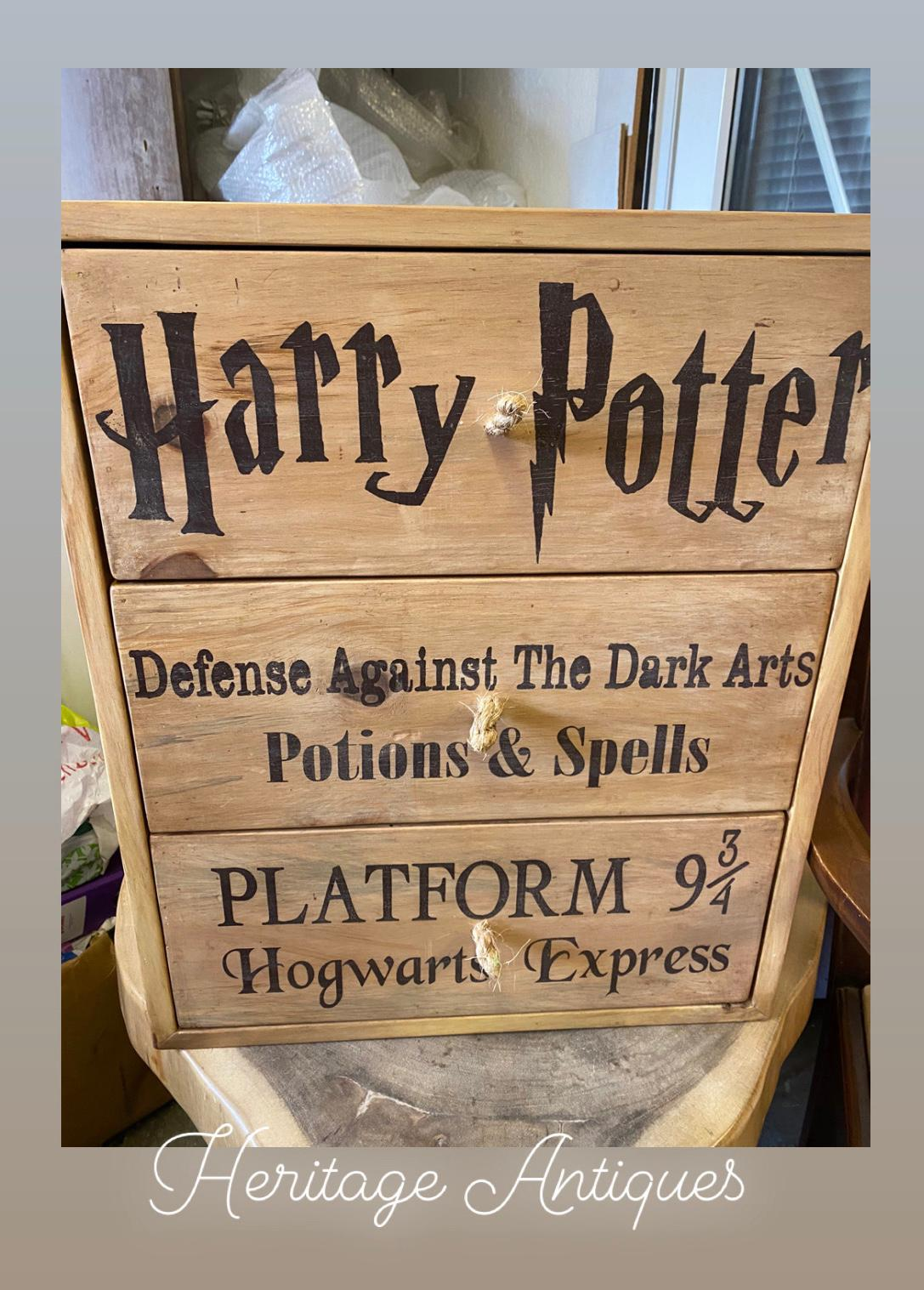 Harry Potter chest of drawers