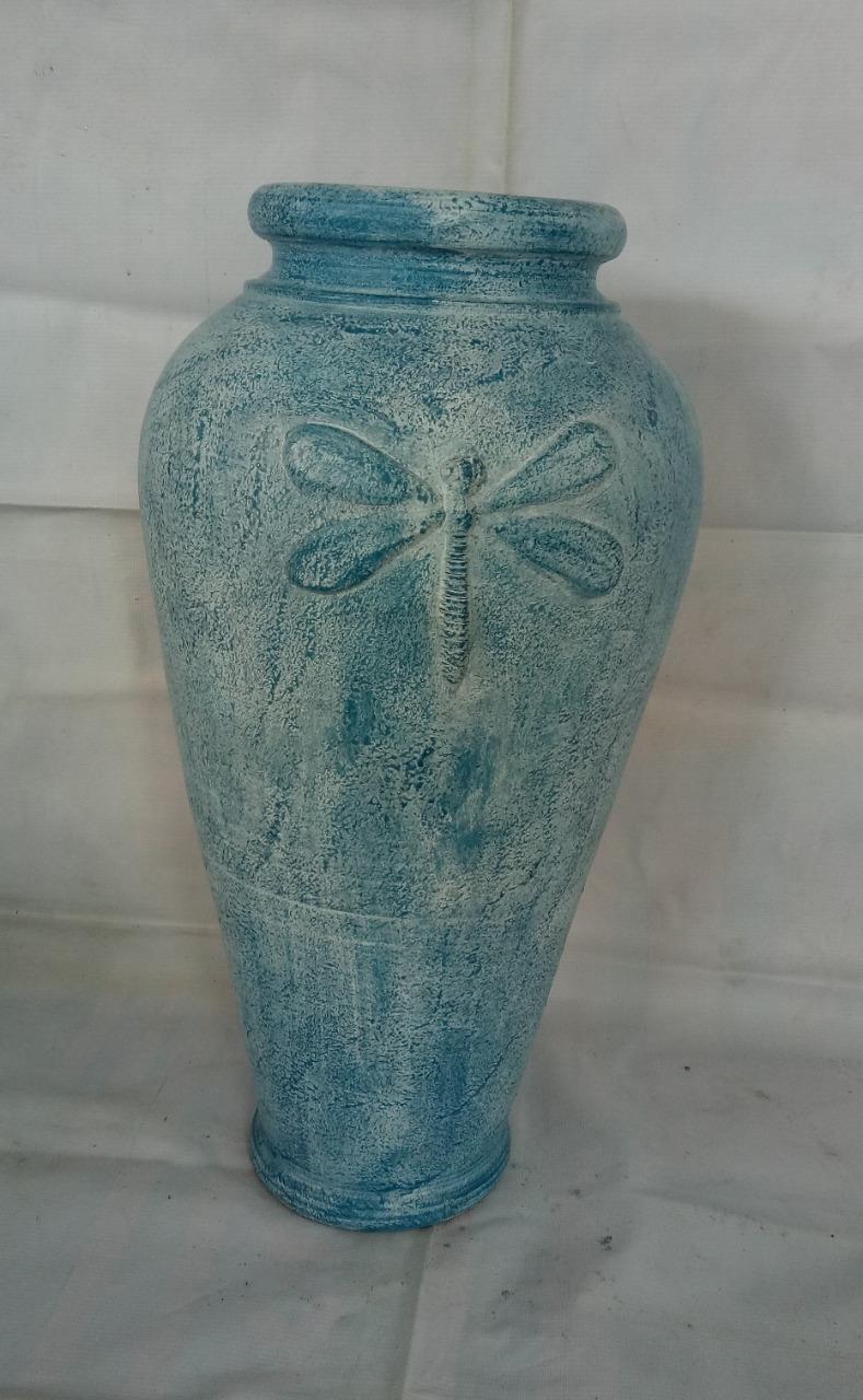 023 blue pot dragonfly