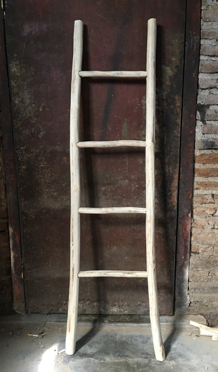 025 rustic wooden ladders
