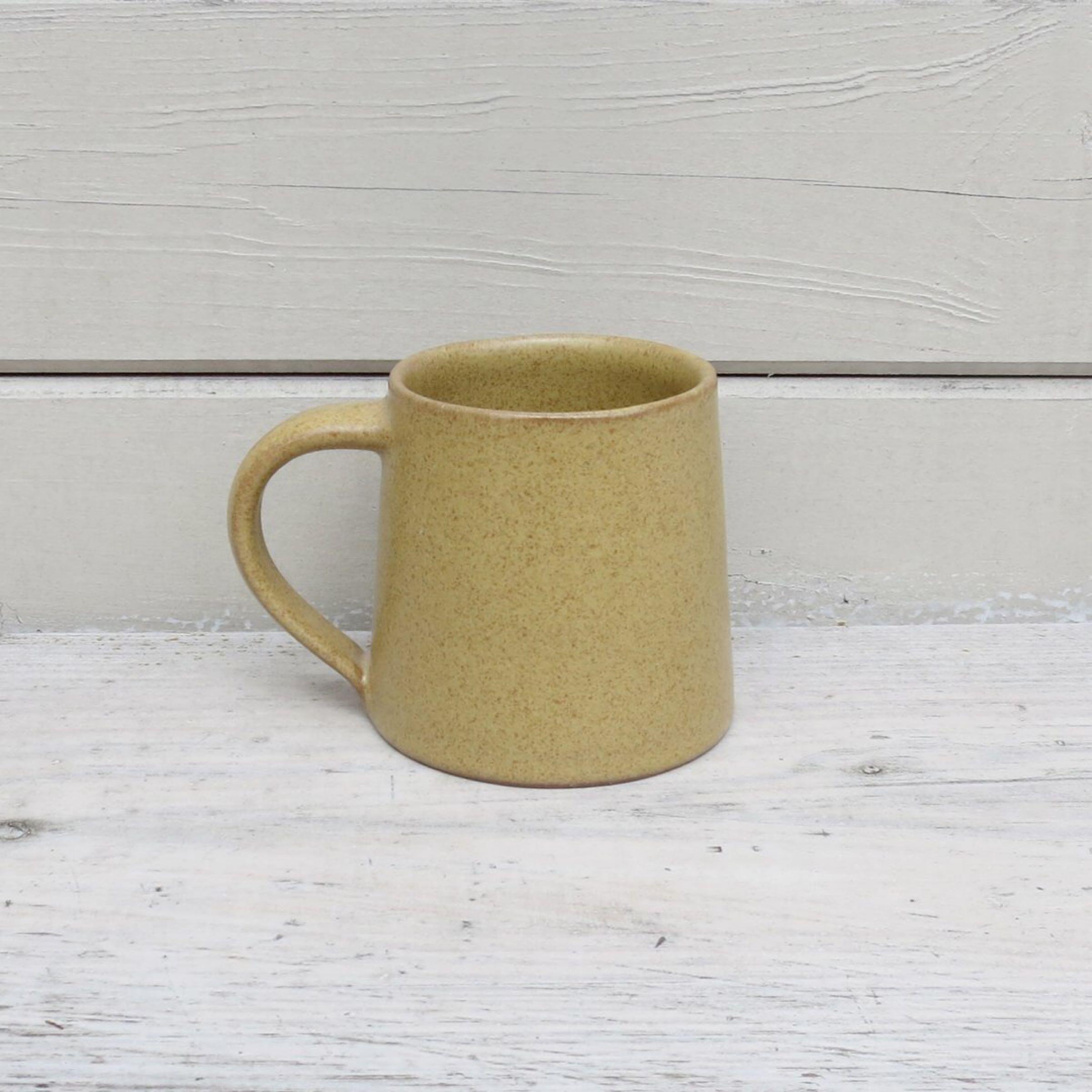Stoneware Mug Mustard Yellow