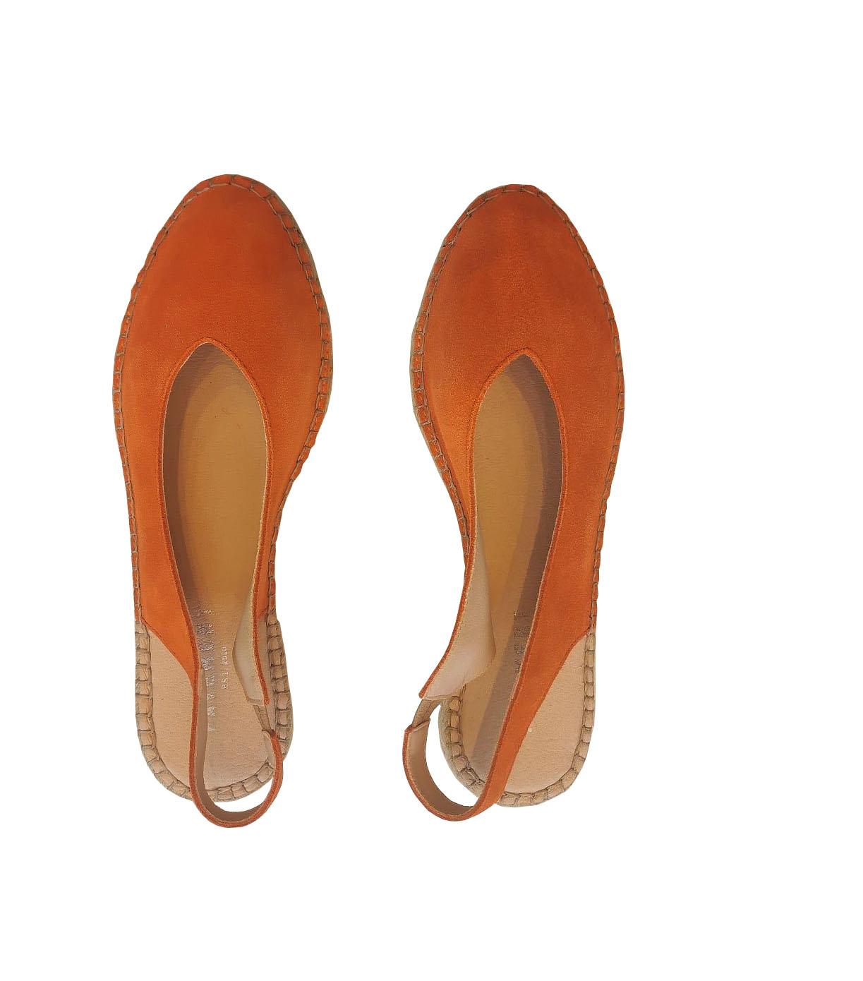 Kayla Espadrillo Orange